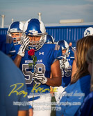 Friday night lights with Needville Blue Jays vs Royal Falcons with a final score of 62-15  To see more of the photographs I captured during this game go to http://roykasmirphotography.com/event/2017-09-08-Needville-Football/  For the photographers that want to know all the settings for this photograph, it was created 9/8/2017 6:32:42 PM Using my PENTAX K-3 set at ISO320 with a shutter speed 1/1250 sec and an aperture of ƒ / 2.8. My lens was  at 70 mm  #bluejaystadium, #football, #footballfield, #fridaynightlights, #highschoolfootball, #needville, #needvillebluejays, #needvilletexas, #needvilletx, #royalfalcons, #roykasmir, #roykasmirphotography, #texasphotographer, #uniform