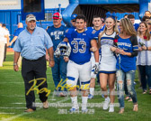 Friday night lights with Needville Blue Jays vs Royal Falcons with a final score of 62-15  To see more of the photographs I captured during this game go to http://roykasmirphotography.com/event/2017-09-08-Needville-Football/  For the photographers that want to know all the settings for this photograph, it was created 9/8/2017 6:40:25 PM Using my PENTAX K-3 set at ISO640 with a shutter speed 1/250 sec and an aperture of ƒ / 5.6. My lens was  at 98 mm  #bluejaystadium, #football, #footballfield, #fridaynightlights, #highschoolfootball, #needville, #needvillebluejays, #needvilletexas, #needvilletx, #royalfalcons, #roykasmir, #roykasmirphotography, #texasphotographer, #uniform