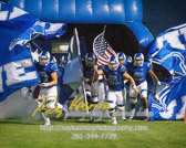 Friday night lights with Needville Blue Jays vs Sealy Tigers with a final score of 7-14  To see more of the photographs I captured during this game go to http://roykasmirphotography.com/event/2017-09-29-Needville-Football/  For the photographers that want to know all the settings for this photograph, it was created 9/29/2017 7:25:36 PM Using my PENTAX K-3 set at ISO32000 with a shutter speed 1/800 sec and an aperture of ƒ / 3.5. My lens was  at 70 mm  #bluejaystadium, #football, #fridaynightlights, #guarantee, #highschoolfootball, #jersey, #needville, #needvillebluejays, #needvillephotographer, #needvilletexas, #needvilletx, #pentax, #roykasmirphotography, #sealy, #sealytexas, #sealytigers, #sealytx, #texasphotographer, #uniform